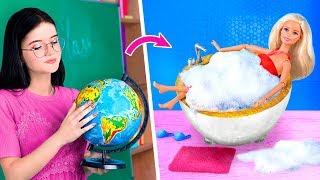 7 Pomysłów DIY na Mebelki dla Barbie z Przyborów Szkolnych