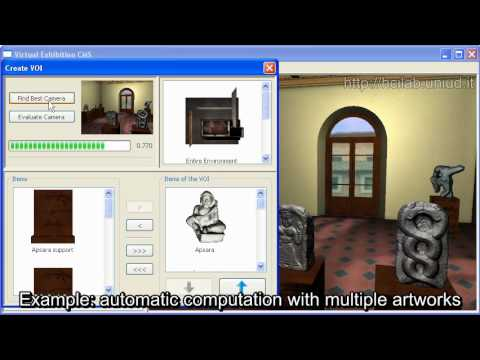 (2010) Easy-to-use editor for creating 3D virtual museums and exhibitions (VEX-CMS)