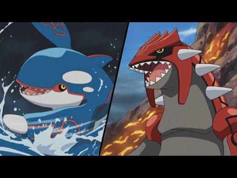 Groudon contro Kyogre! | Advanced Battle | Video ufficiale - YouTube