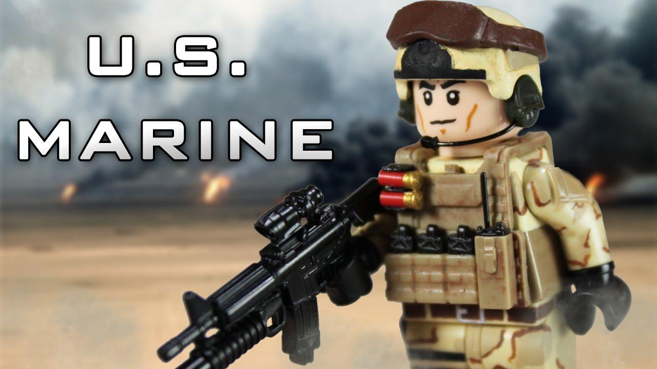 Custom LEGO U.S. Marine - YouTube