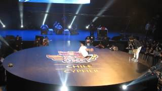 Red Bull BC One Chile 2015 - Semifinal (Jorgito vs Shuky)