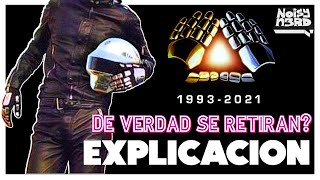 DAFT PUNK se retiran?! (explicando Epilogue) | MINI DOCUMENTAL