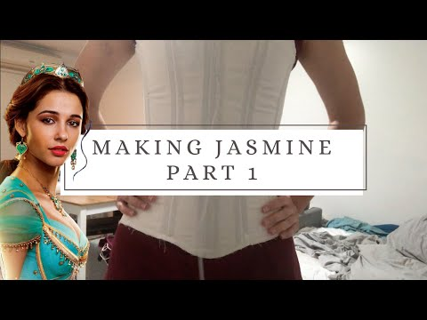 Aladdin 2019 - Making Jasmine || Part 1 - The Corset