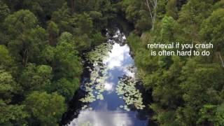 DJI Mavic Pro flying over water QUICK TIPS