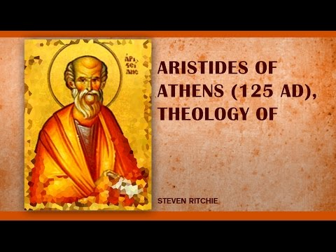 Aristides of Athens, Theology of