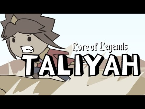 Lore of Legends: Taliyah the Stoneweaver
