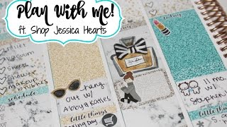 "Plan With Me! ft  Shop Jessica Hearts ""Brunch"""