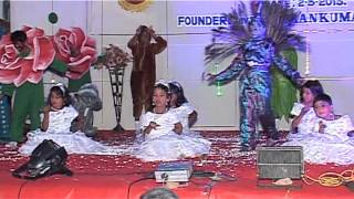 Bethel School Udumalpet Annual Day Function 2013 PART 15 Poo Poovai Paranthu Pogum