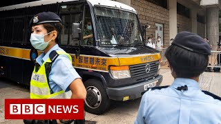 Hong Kong man guilty in first national security law trial - BBC News