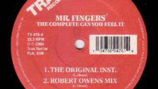 Mr Fingers, Can U Feel It (Original Instrumental) - 2002
