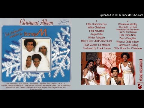 Boney M.: Christmas Album [Full Album, Expanded Version] (1981)