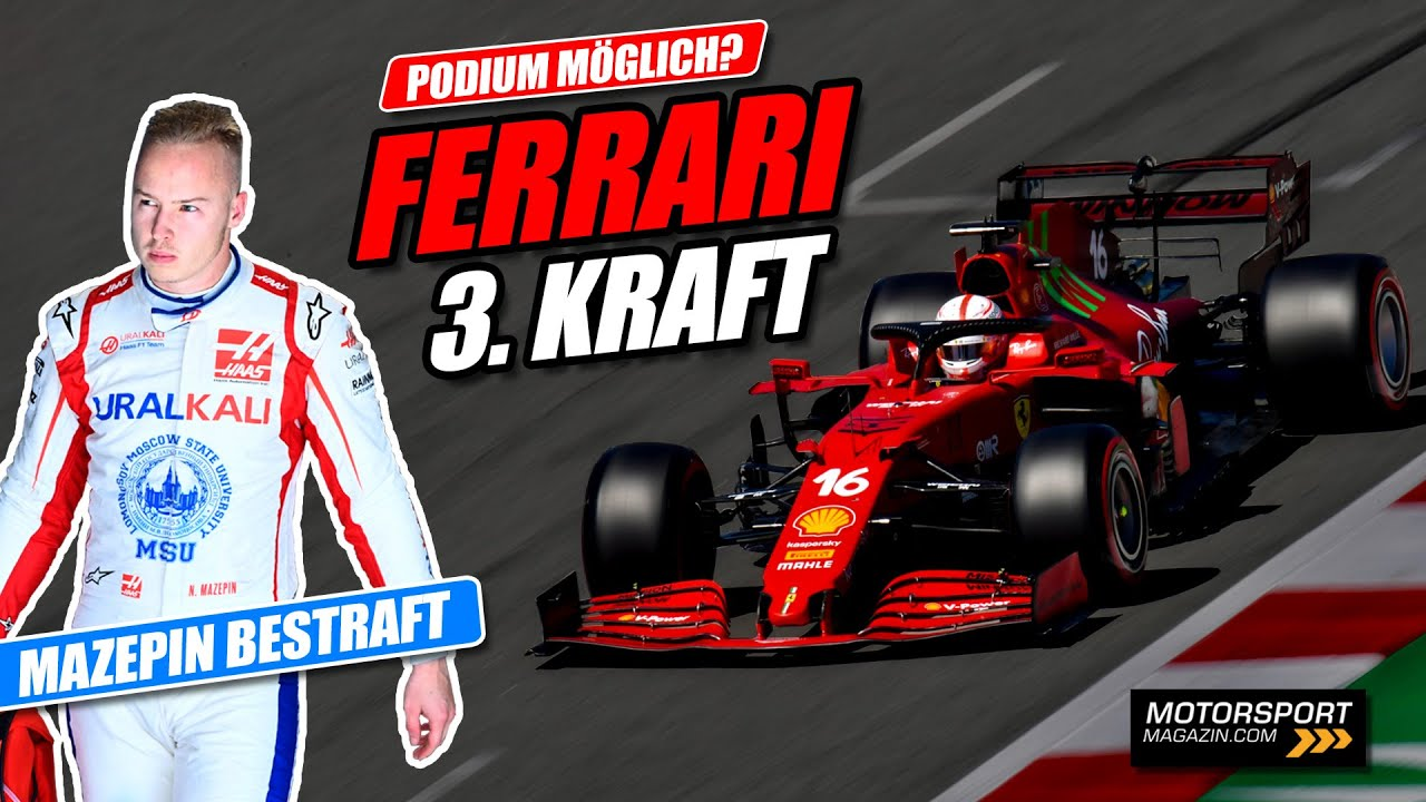 """Mit Mazepins """"Hilfe"""": Kehrt Ferrari aufs Formel 1-Podium zurück?"""