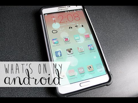 ✿ PART 1: What's on my Samsung Android Phone (Note 3) ✿