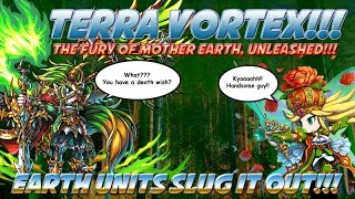 Brave Frontier : Terra vortex the wrath of Mother Nature