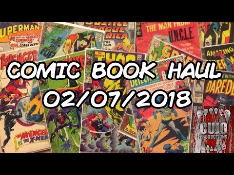 CP Comic Books - Comic Book Haul - 02/07/2018