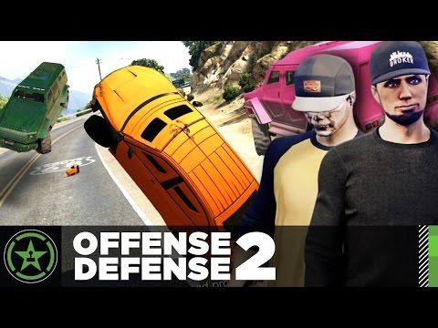 Let's Play - GTA V - Offense Defense: The Wreckoning (#2)