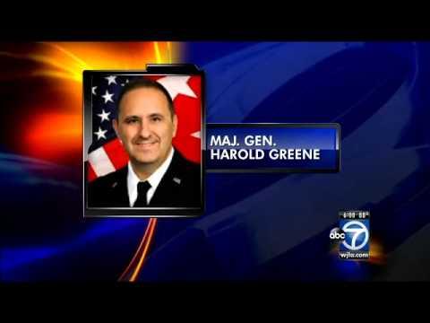 Major General Harold Greene killed in Afghanistan attack