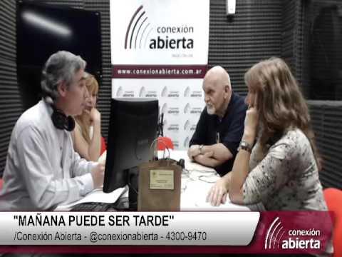 """Villanueva Cosse en """"Mañana puede ser tarde"""" 24-11 Radio Conexion Abierta"""