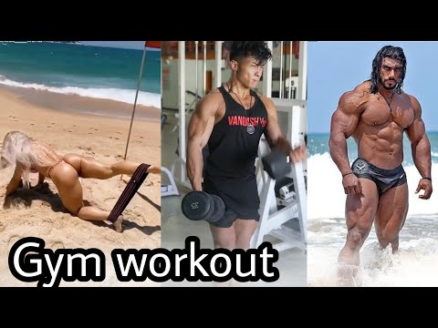 Trending Gym Workout Tik Tok Vedioes #fitness 24 | Trending Vedio On Tik Tok | Tik_tok India