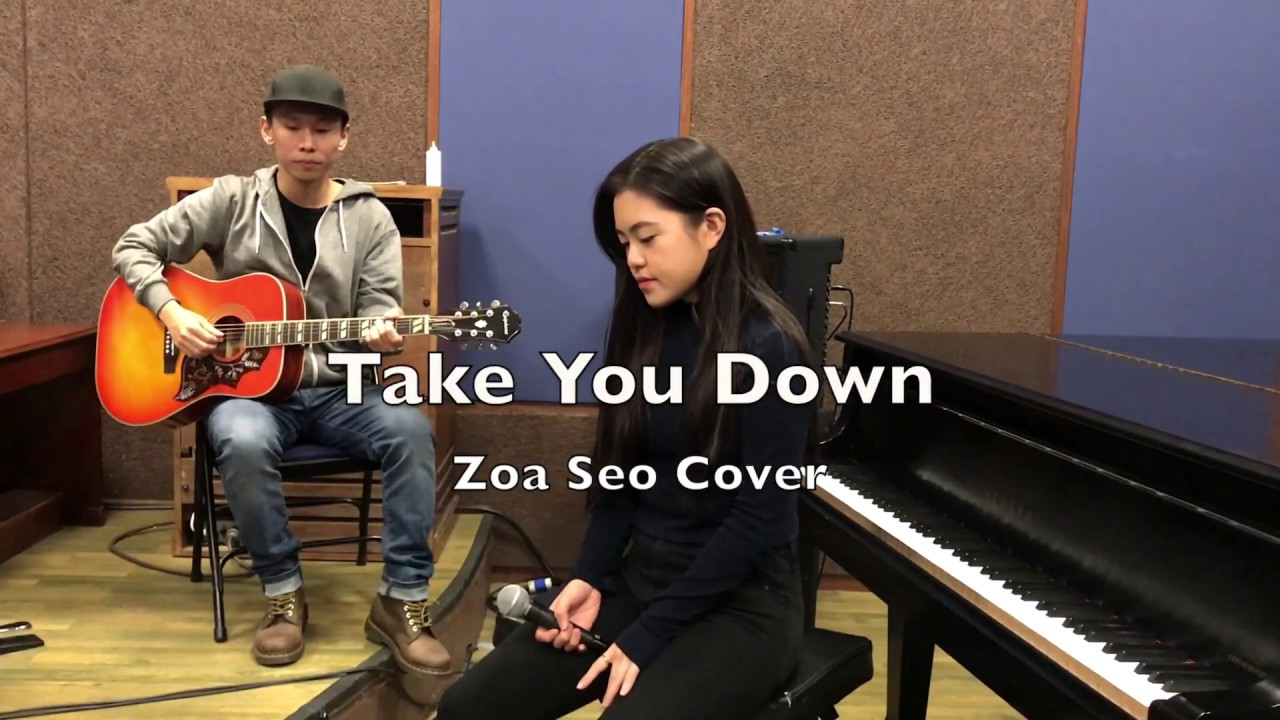 Take You Down - Chris Brown (Zoa Seo Cover)