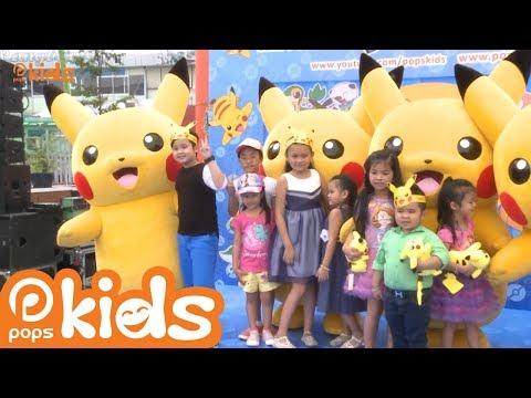 Sự Kiện Ra Mắt Loạt Phim Pokémon Trên POPS Kids