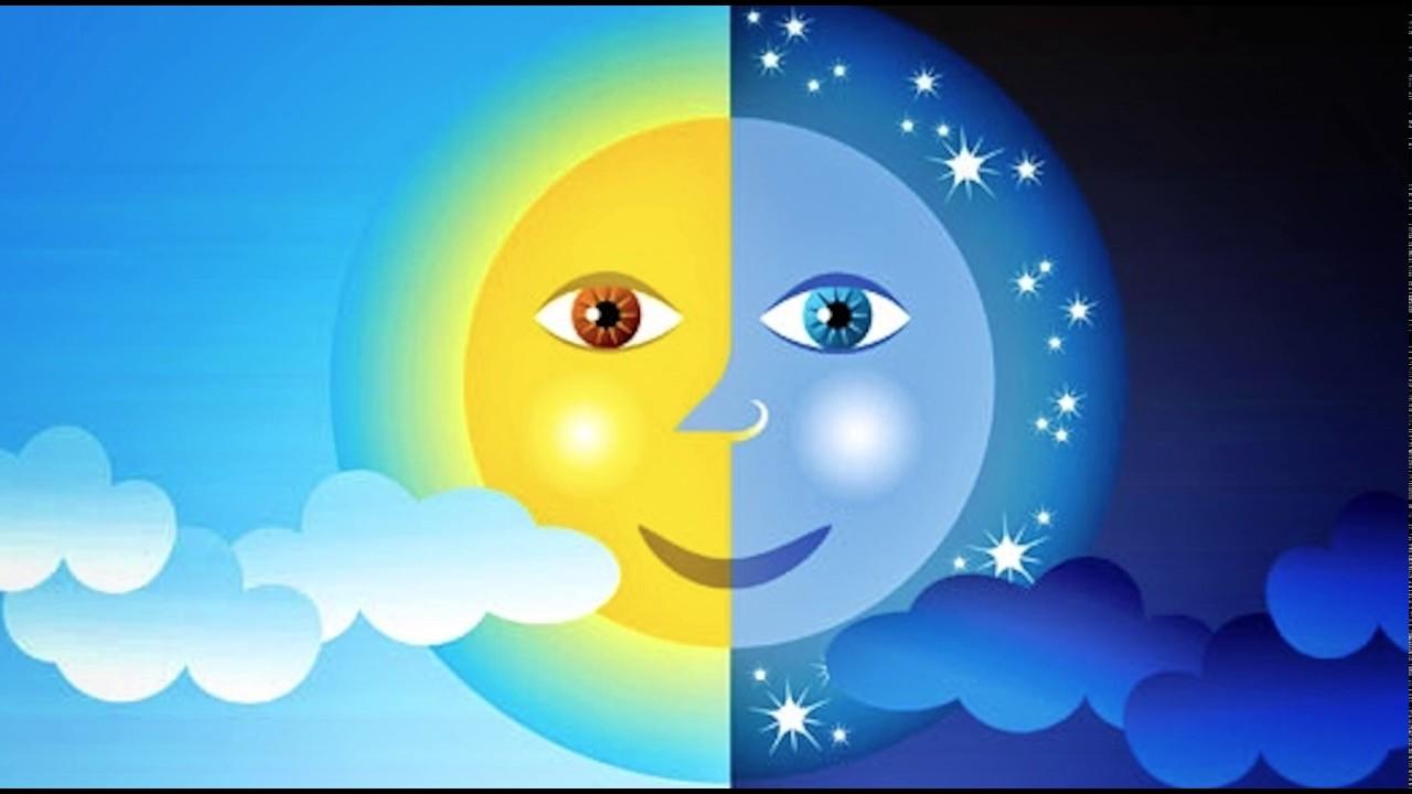 Resultado de imagen para luna y sol