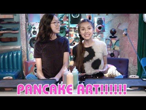 Pancake Art | Bizaardvark | Disney Channel