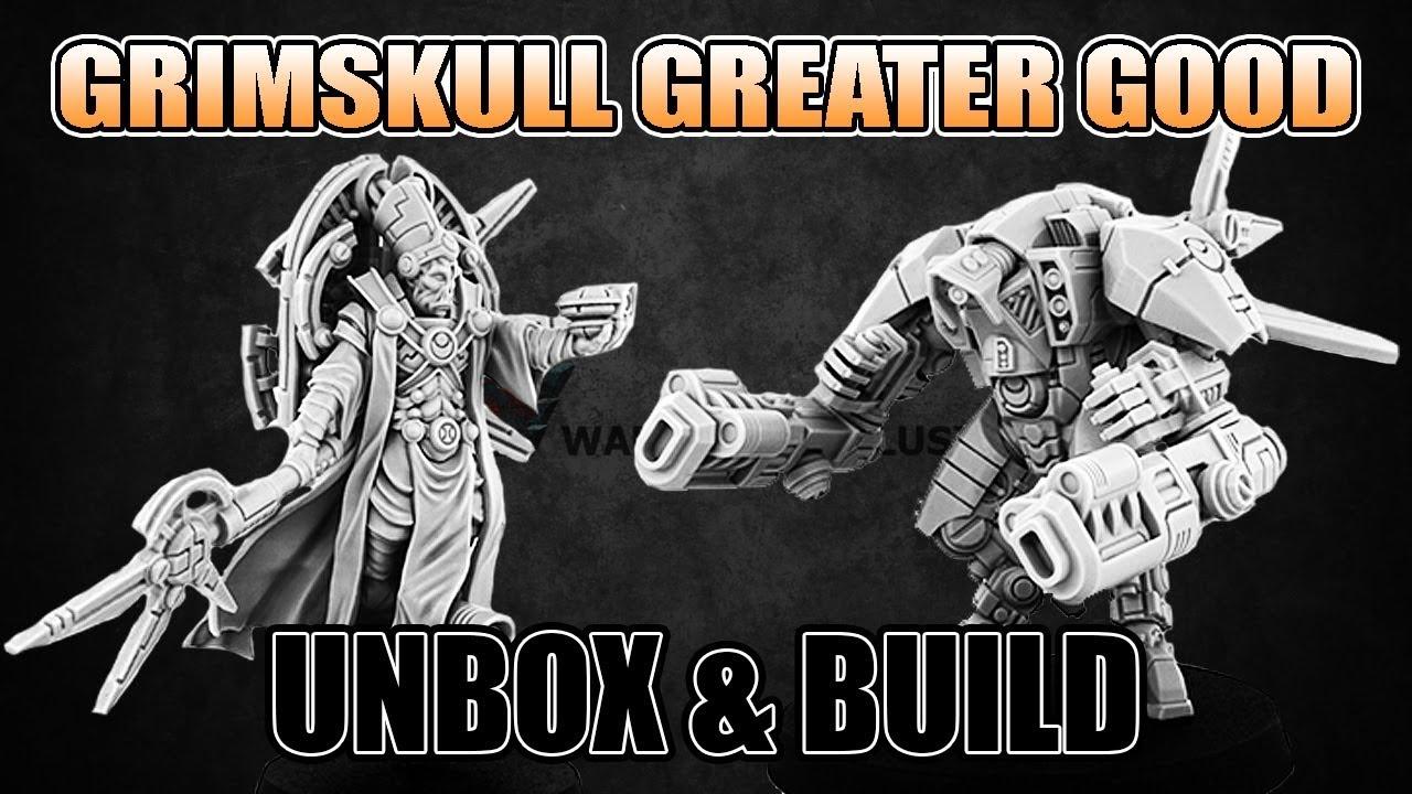 Tau Greater Good Grimskull Miniatures Unbox & Build