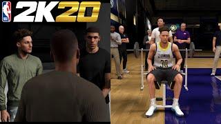 NBA 2K20 MyCareer #5 - NBA Draft Combine & Acting in a Movie!