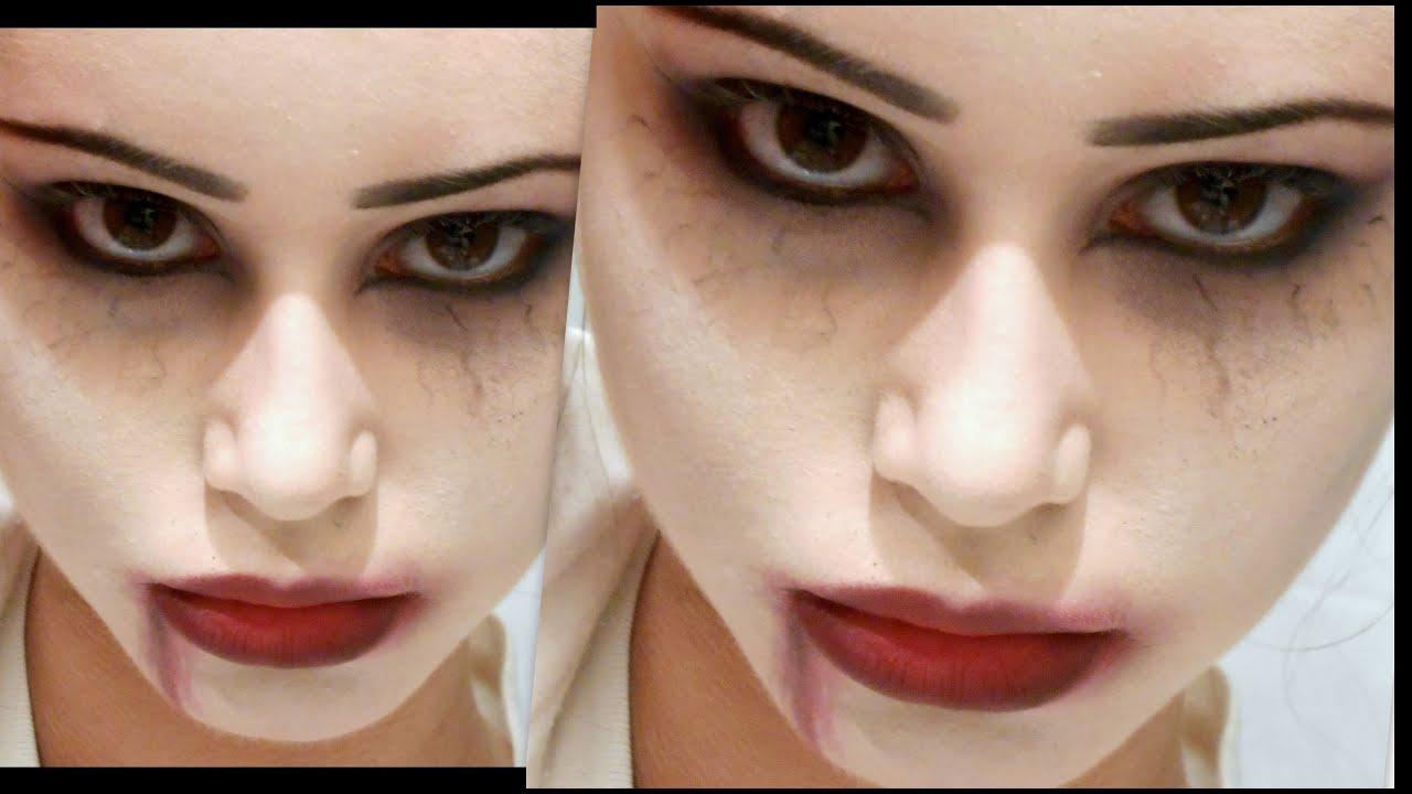 sexy vampiro halloween makeup facile e veloce youtube. Black Bedroom Furniture Sets. Home Design Ideas