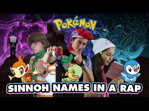 Sinnoh Names in a Rap! a Pokémon Musical feat. VideoGameRapBattles, Kevin Krust, & Mat4yo!