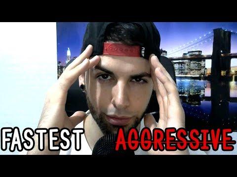 ASMR FASTEST AGGRESSIVE (Binaural)