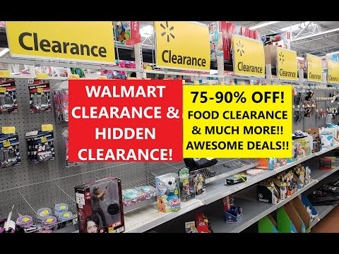 WALMART CLEARANCE & HIDDEN CLEARANCE! 75-90% OFF! RETAIL ARBITRAGE! SHOP WITH ME 2020!