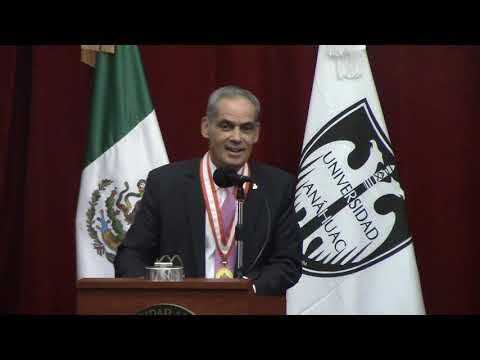 Mensaje Embajador De Israel Jonathan Peled A La Univ Anahuac Medalla  Humanidades 6