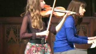 Hayley Accolay Concerto in A minor 1st Mvt. 10/18/2009