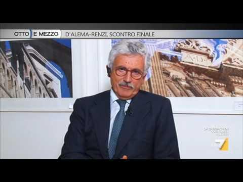 Massimo D'Alema: 'Matteo Renzi non è stato investito dal Signore'