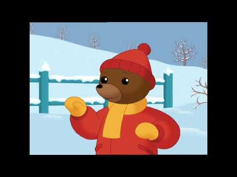 Petit ours brun fait des boules de neige petit ours brun youtube - Petit ours dessin anime ...