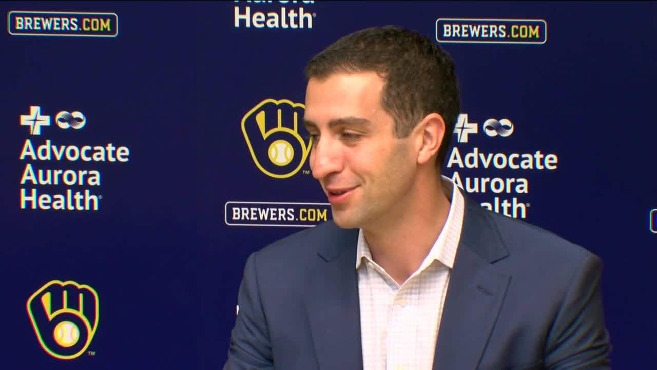 Download Stearns says Brewers don't know cause of Yelich's struggles