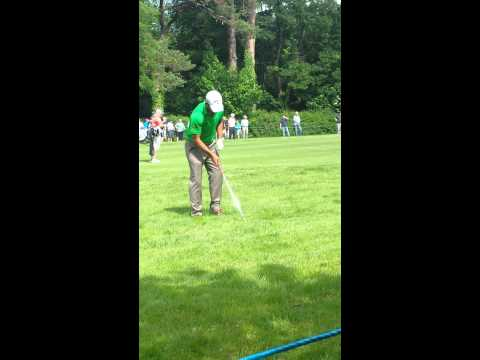 Pablo  Larrazabal Golf Swing
