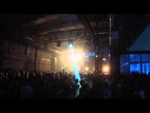 Ben Klock @ Soho Factory 29.11.13 Warszawa ,HD