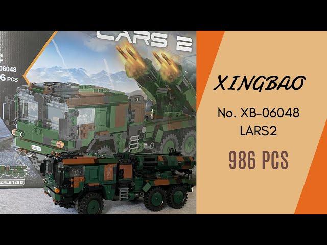 Xingbao No.XB-06048  Bundeswehr Lars 2 - Design gut gelungen, aber die Fliesen taugen echt nix!