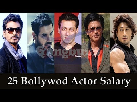 Bollywood Actors Salary - Top 26 Bollywood Actors Salary Per Film *Top Bollywood Actors Salary*