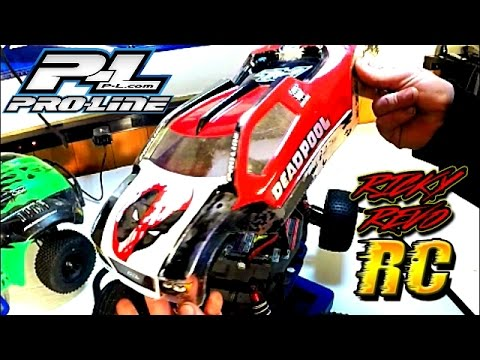 ProLine RC Bulldog Body (2017) - DEADPOOL Traxxas Rustler 1 Year RC Car  Update