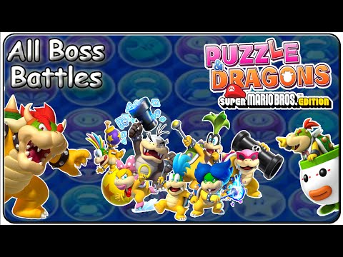 Puzzle & Dragons Super Mario Bros. Edition All Bosses