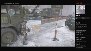 The Division Livestream- LS|PVP|LIVE ACTION| Quick stream