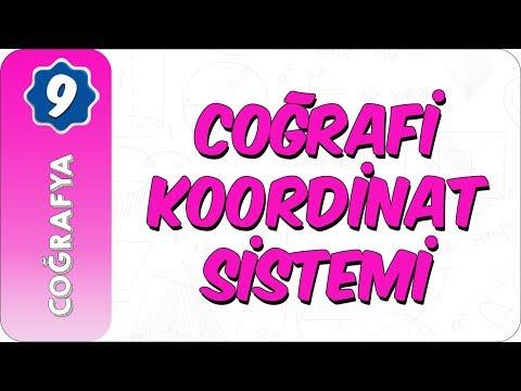 9. Sınıf Coğrafya   Coğrafi Koordinat Sistemi