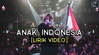 ANAK INDONESIA - Atta Halilintar ft Masgib 🇲🇨 (Lirik Video)