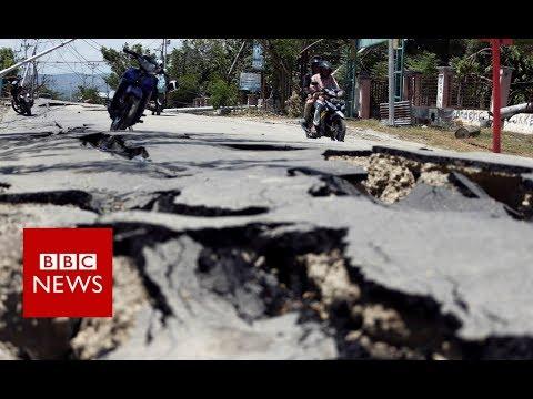 Indonesia quake turns ground into liquid - BBC News