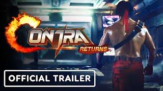 Contra Returns - Official Live Action Trailer screenshot 4
