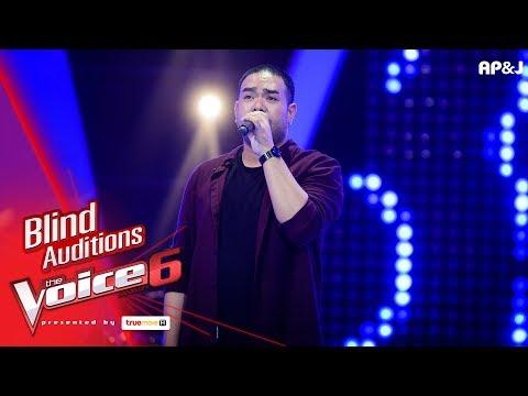 กฤษ - รู้ไหมทําไม - Blind Auditions - The Voice Thailand 6 - 3 Dec 2017